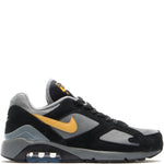 Style code AV7023-001. Nike Air Max 180 Cool Grey / Wheat Gold
