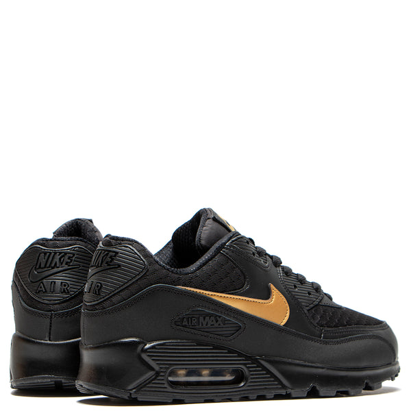 special section popular stores exquisite style Nike Air Max 90 Essential Black / Metallic Gold
