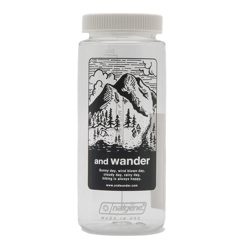 and wander Nalgene Bottle / Grey