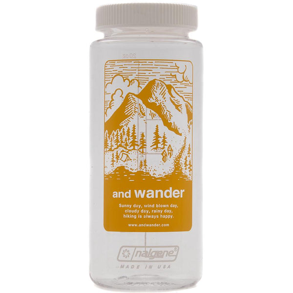 Style code AWAA768YEL. AND WANDER NALGENE BOTTLE / YELLOW