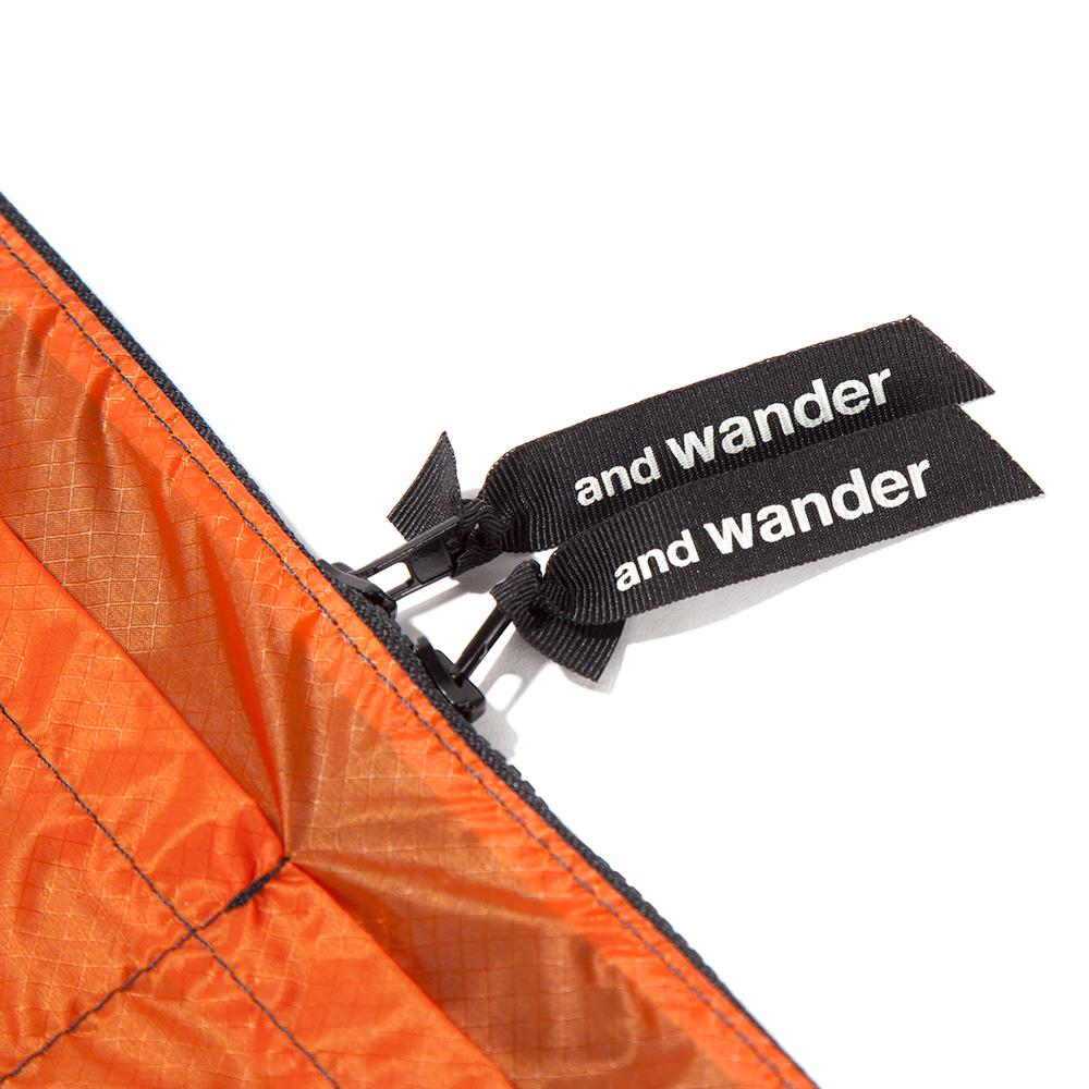 and wander Sil Sacoche / Orange