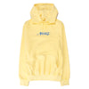 Awake NY Embroidered Logo Pullover Hoodie / Light Yellow