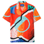 Awake NY x Sam Friedman Silk Camp Shirt / Print