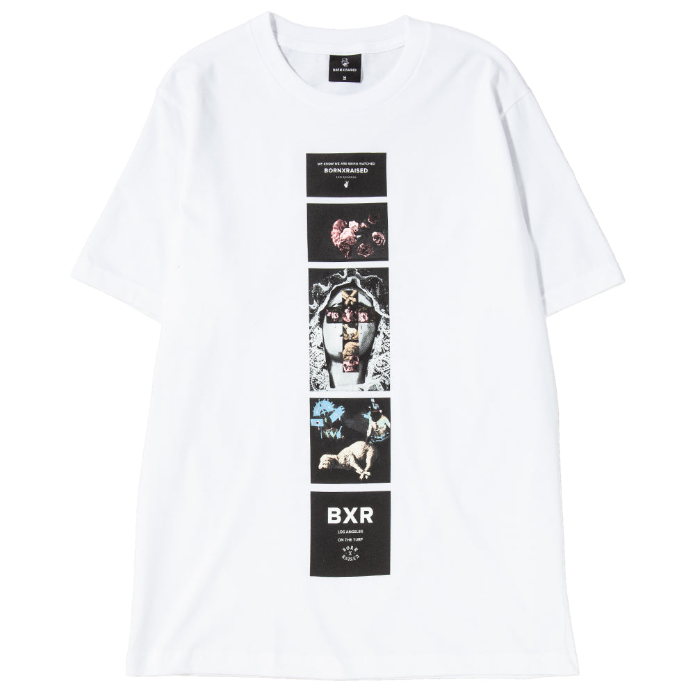 Style code B0001BWATC. Born x Raised Being Watched T-shirt / White