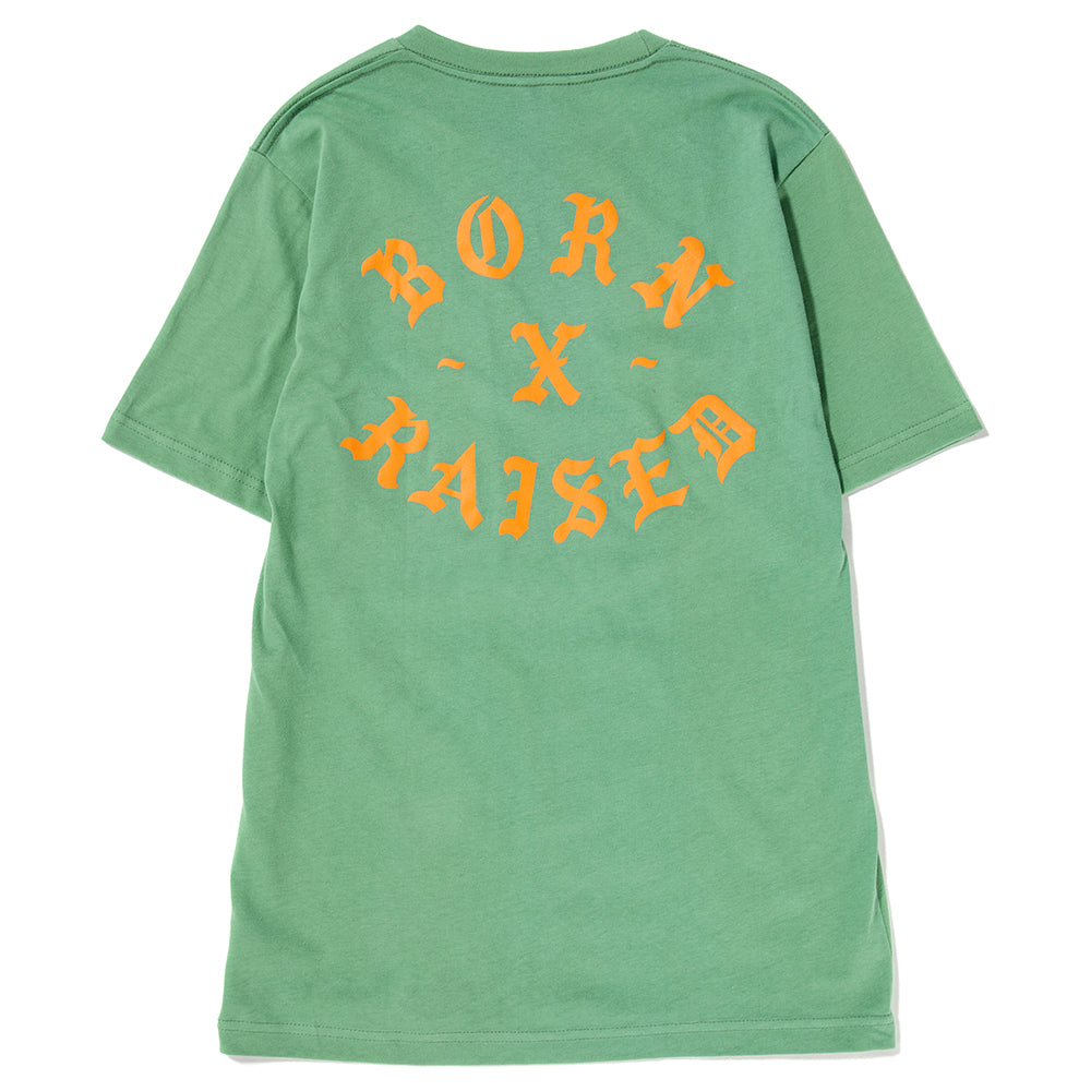 Style code B0001RCKR. Born x Raised Rocker T-shirt / Jade