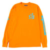 Born x Raised You'll Miss Us Long Sleeve T-shirt / Orange