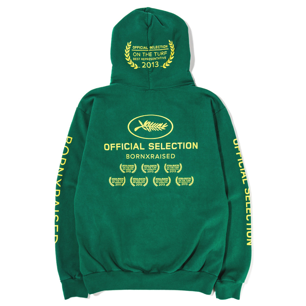 Born x Raised Official Selection Pullover Hoodie / Forest Green