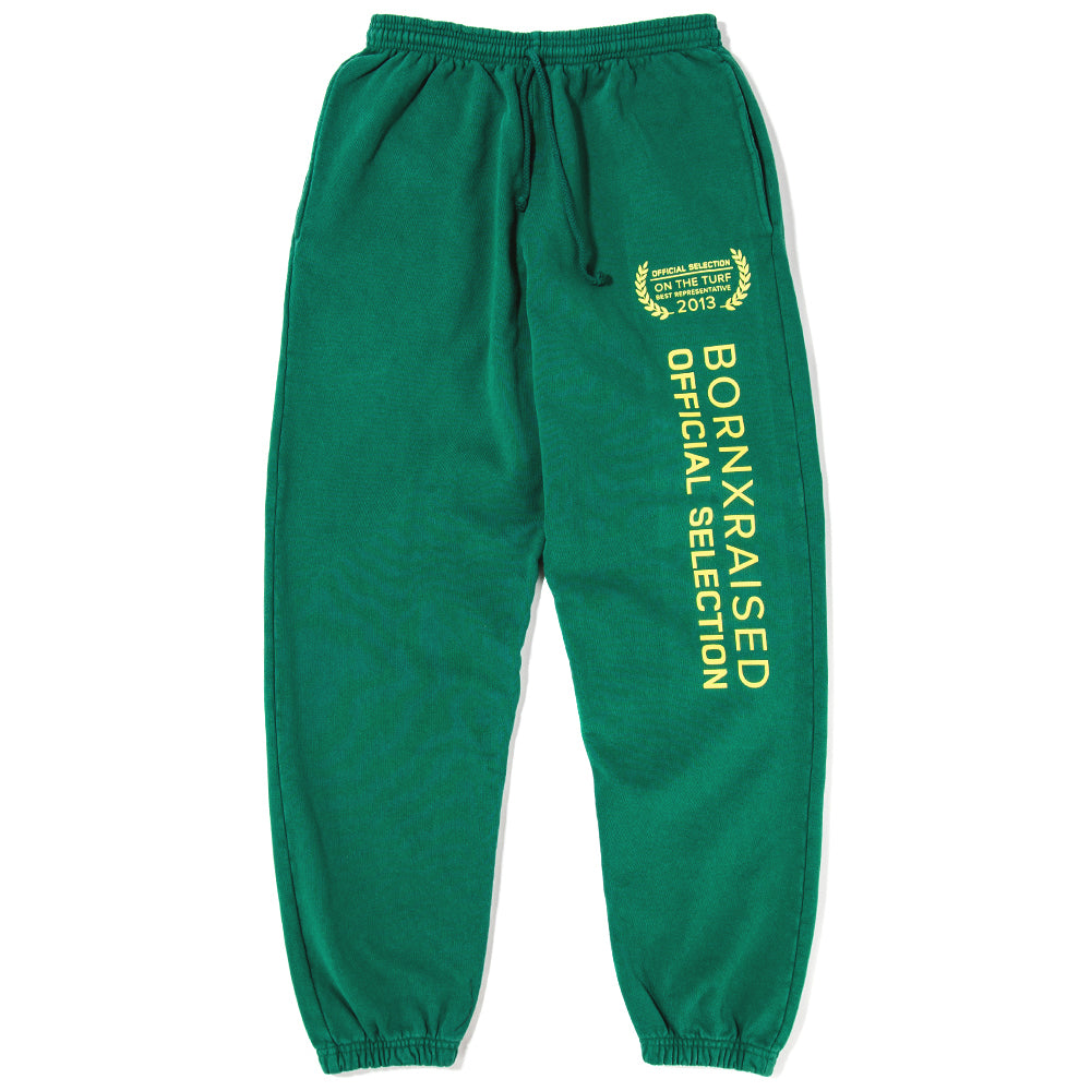 Born x Raised Official Selection Sweatpants / Forest Green