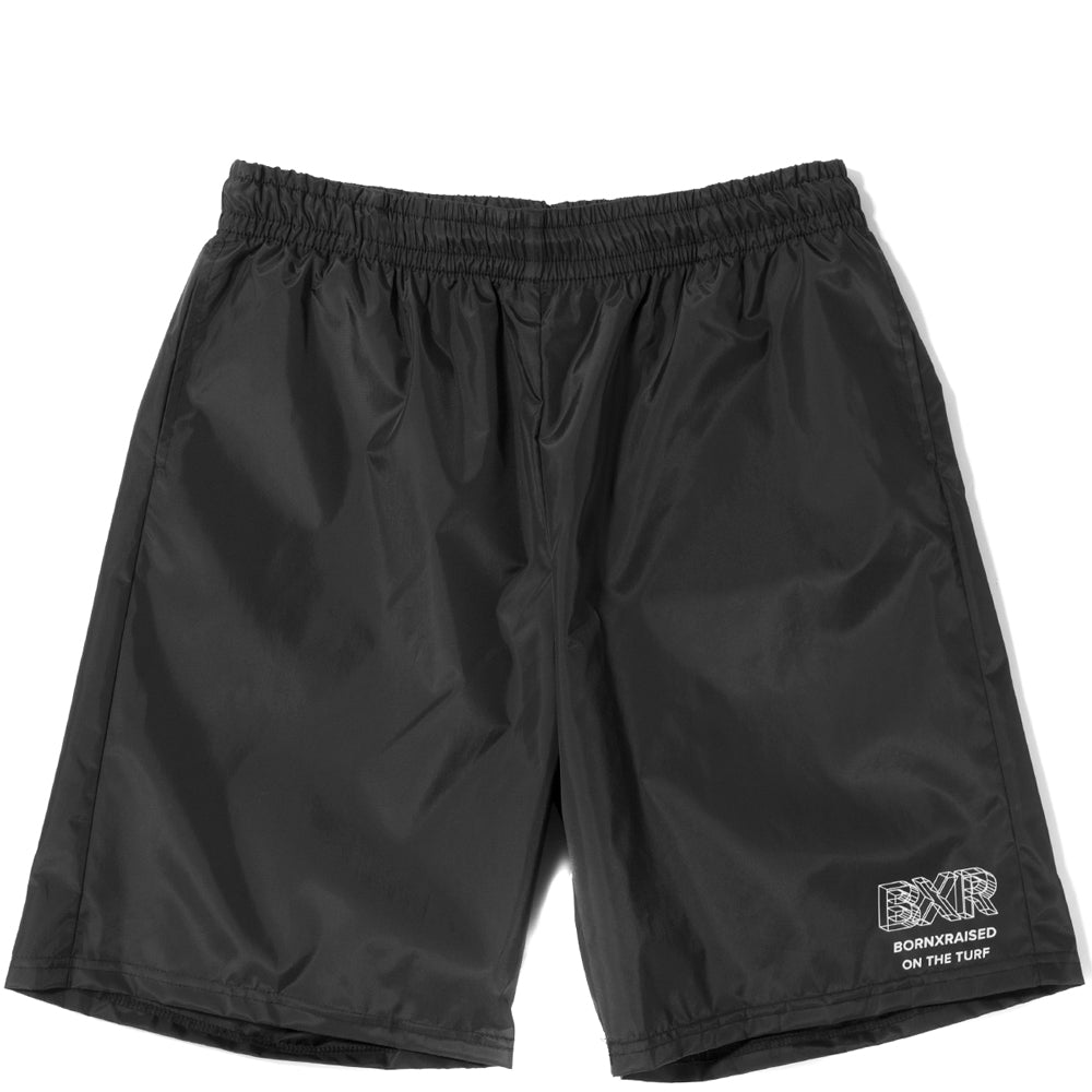 Style code B2009WIRFBKWH. Born x Raised Wireframe Shorts / Black
