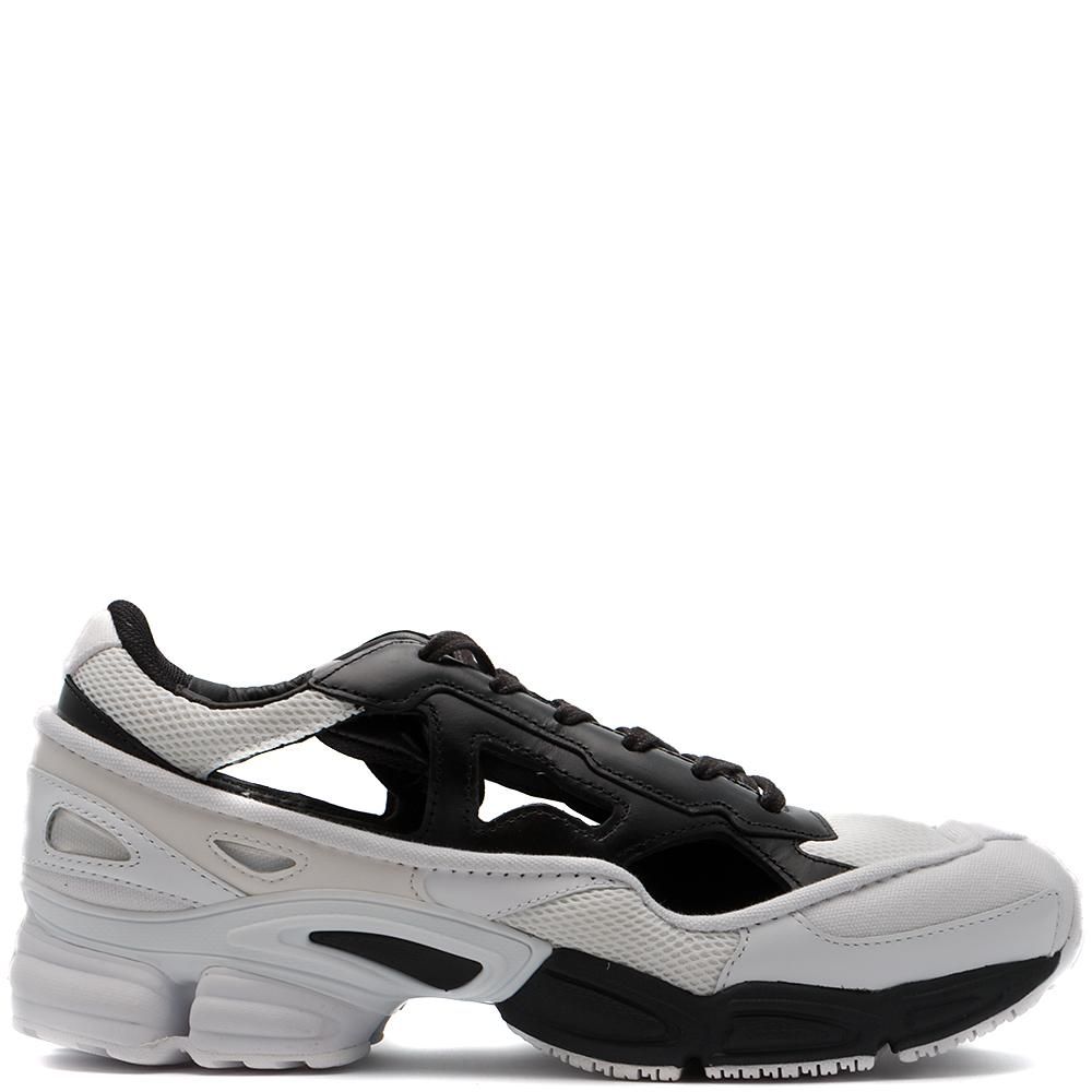 Style Code BB7988. ADIDAS BY RAF SIMONS REPLICANT OZWEEGO CORE BLACK / CREAM WHITE