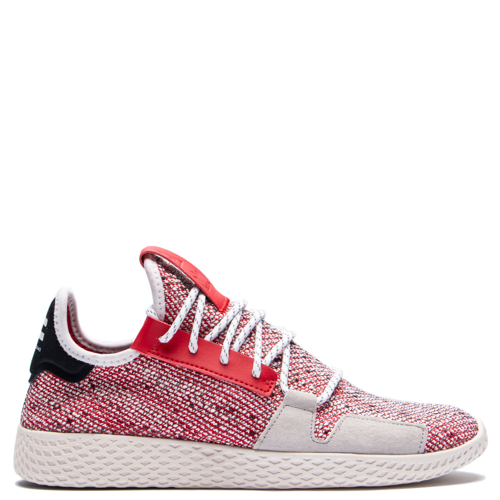 Style code BB9542. adidas Originals by Pharrell Williams SOLARHU Tennis V2 / Scarlet