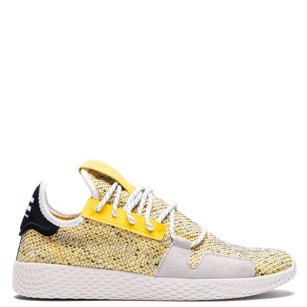 Style code BB9543. adidas Originals by Pharrell Williams SOLARHU Tennis V2 / Yellow