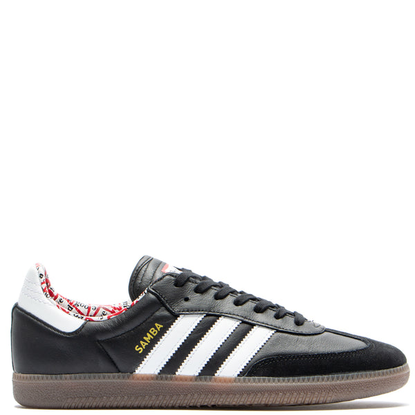 Style code BD7362. adidas by Have a Good Time Samba / Black