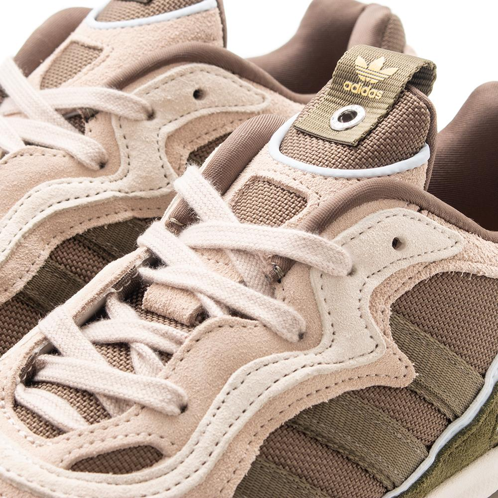 save off 5045b 6ddfa Style code BD8043. adidas Consortium x St Alfred Temper Run   Clear Brown