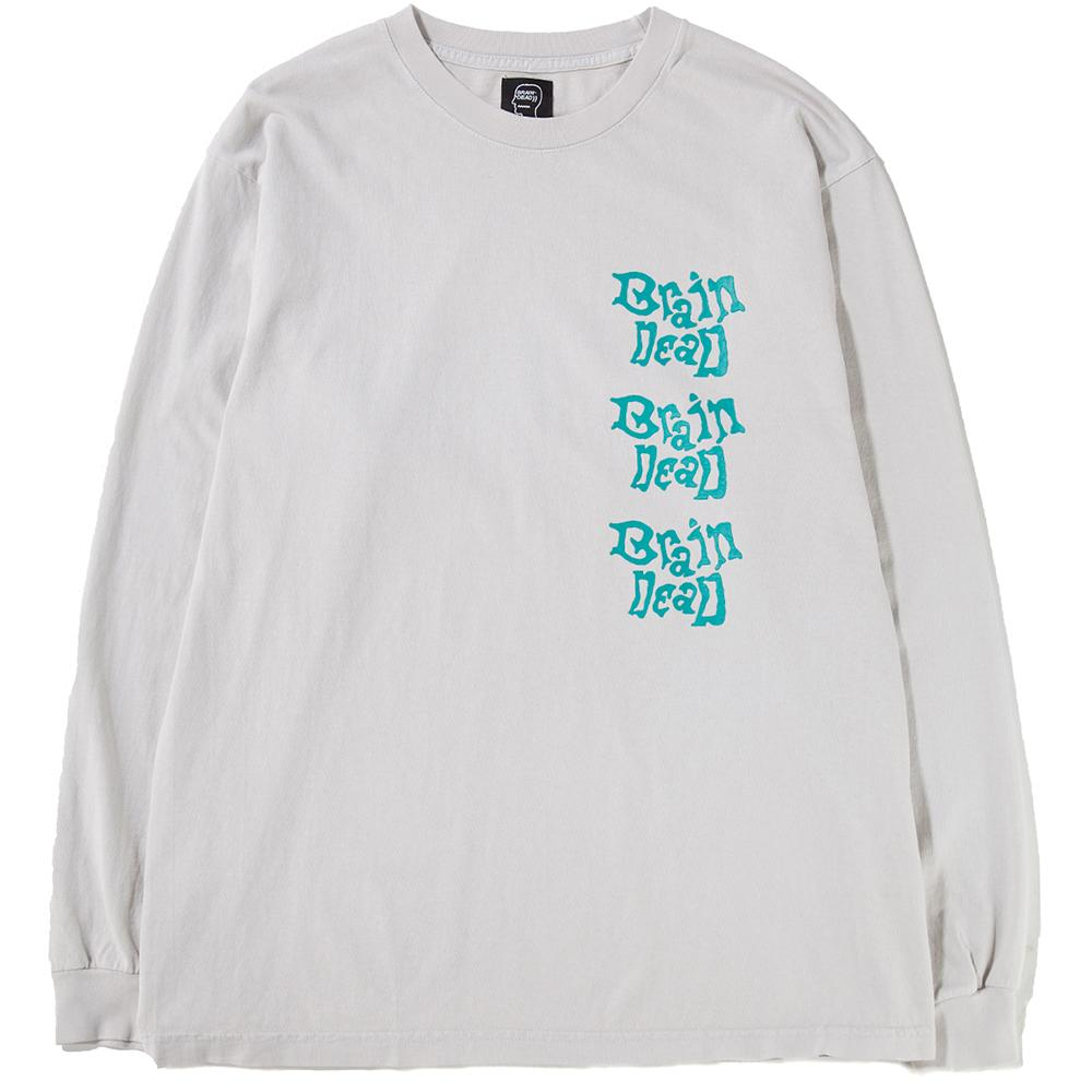 Style code BDD808. BRAIN DEAD PSYCHEDELICATESSEN LONG SLEEVE T-SHIRT / NATURAL