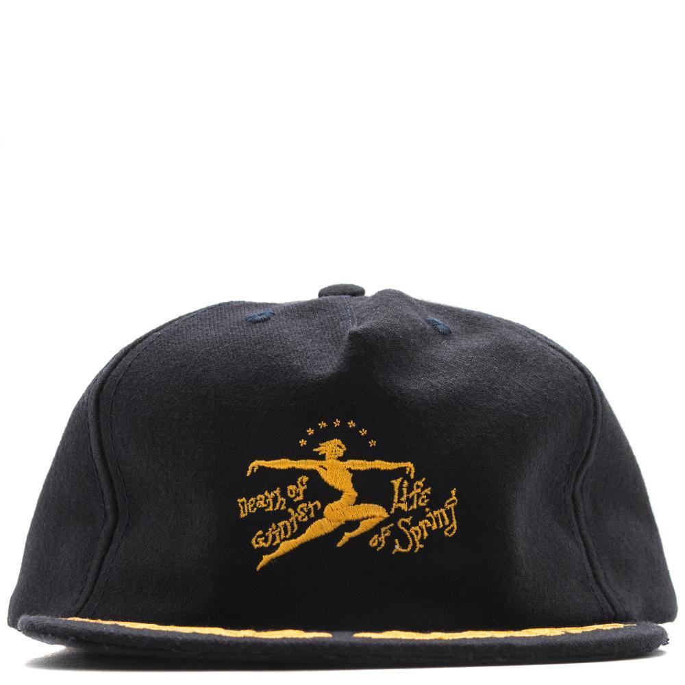Style code BDD817. BRAIN DEAD DEATH OF LIFE HAT / NAVY