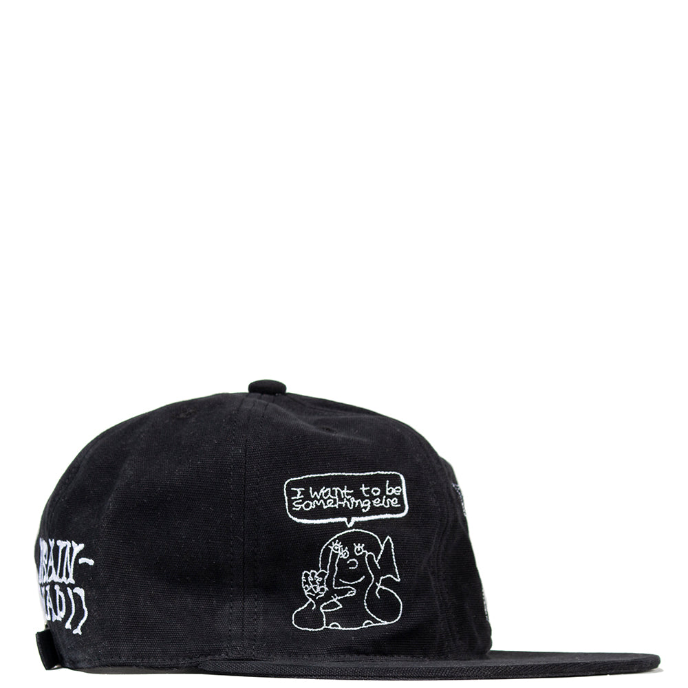 Brain Dead Leon Sadler Strap Back / Black - Deadstock.ca