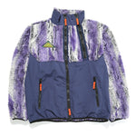 Brain Dead Post Earth Syndrome Fur Fleece / Purple