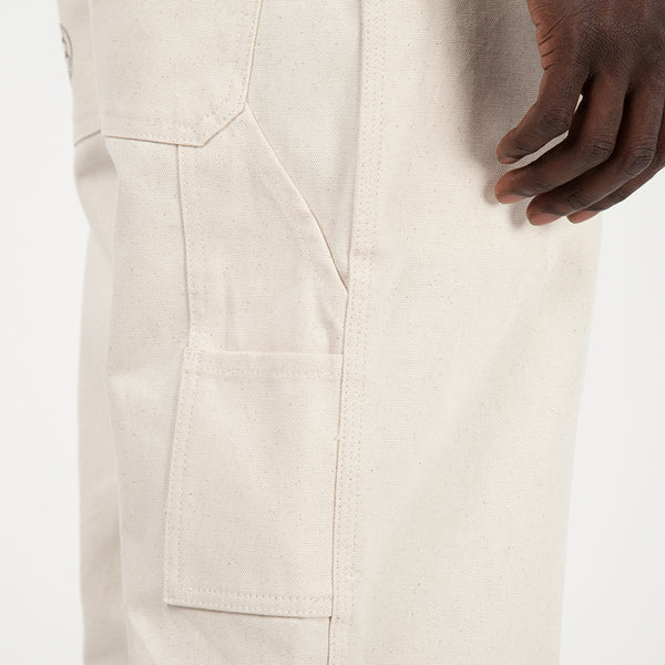 Brain Dead Matt Locke Carpenter Pant / Natural Canvas