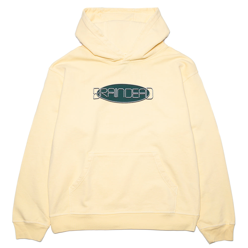 Brain Dead Earth Tour 2020 Pullover Hoodie / Lemon