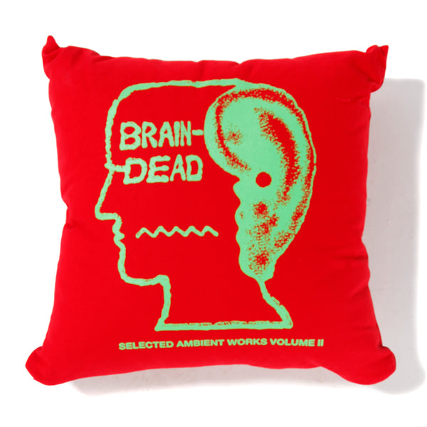 BDSS1922 Brain Dead Ambient Pillow / Red