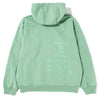 Brain Dead Tonal Type Print Pullover Hoodie / Putty Green