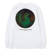 BEINGHUNTED. 3D19 Long Sleeve T-shirt / White - Deadstock.ca