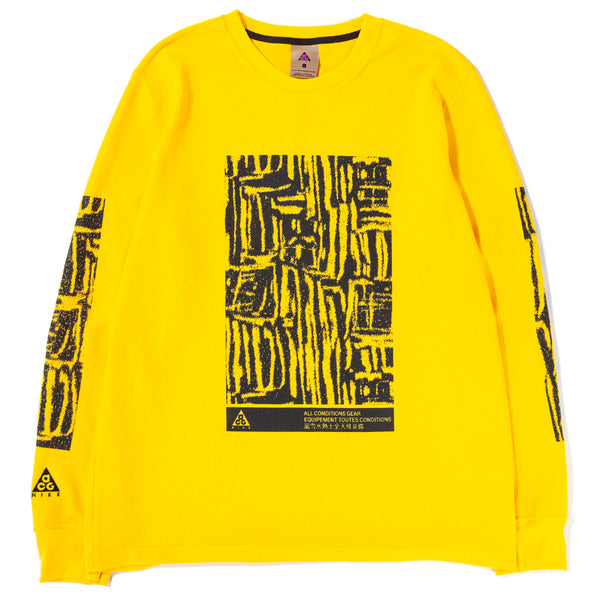 BQ3450-728 Nike ACG Long Sleeve Top / Amarillo