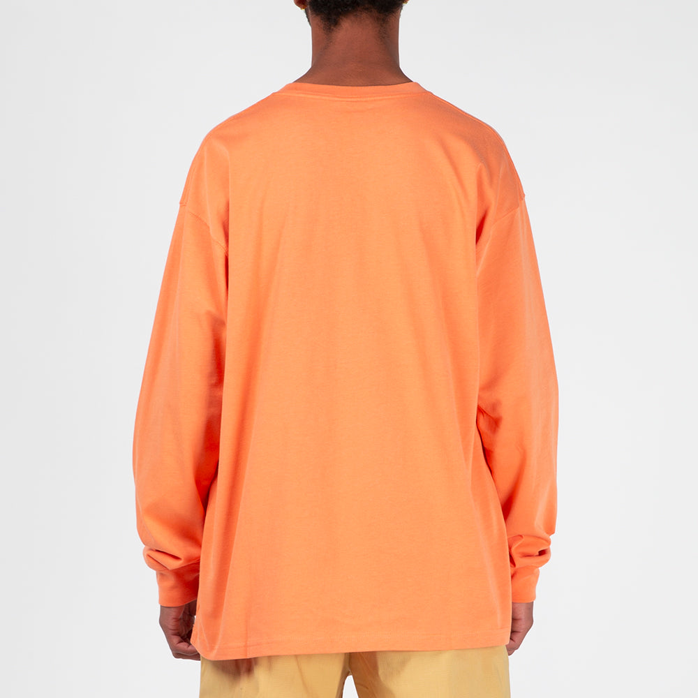 various colors various design on feet shots of Nike ACG Long Sleeve T-shirt / Orange Trance