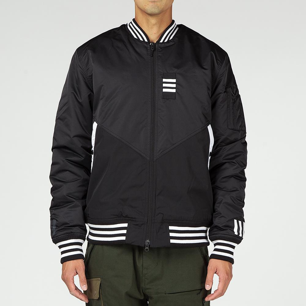 ADIDAS ORIGINALS BY WHITE MOUNTAINEERING FLIGHT JACKET / BLACK