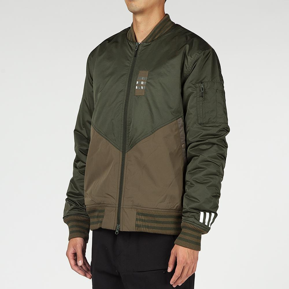 ADIDAS ORIGINALS BY WHITE MOUNTAINEERING FLIGHT JACKET / NIGHT CARGO