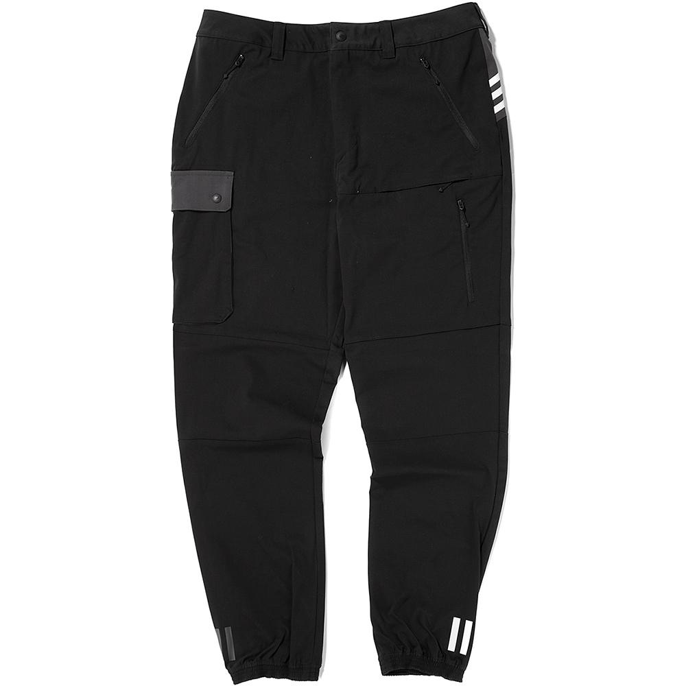 Style code BQ4098. ADIDAS ORIGINALS BY WHITE MOUNTAINEERING WOVEN PANTS / BLACK