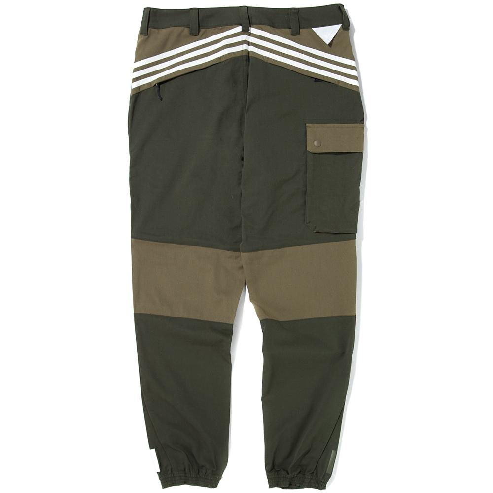 style code BQ4101. ADIDAS ORIGINALS BY WHITE MOUNTAINEERING WOVEN PANTS / NIGHT CARGO