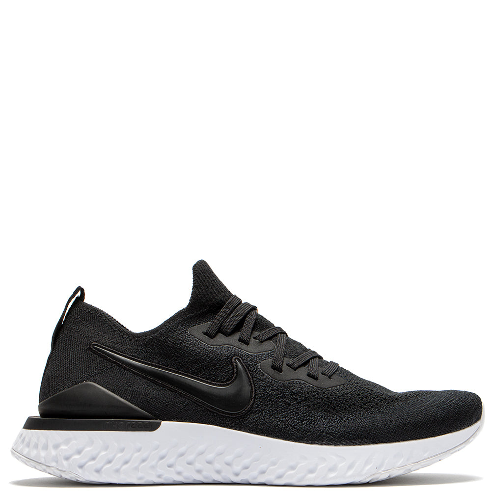 BQ8928-002 Nike Epic React Flyknit 2 Black / Gunsmoke