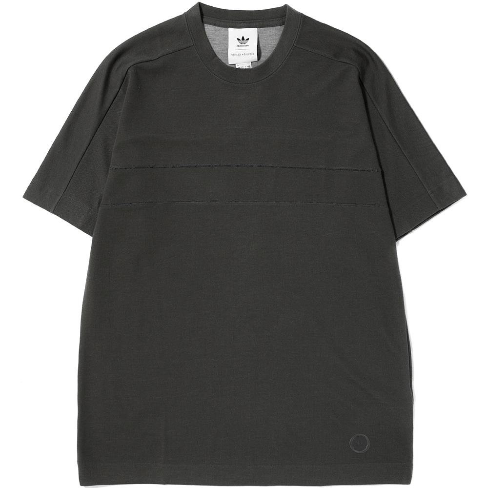 Style code BR0161. ADIDAS BY WINGS + HORNS T-SHIRT / CINDER