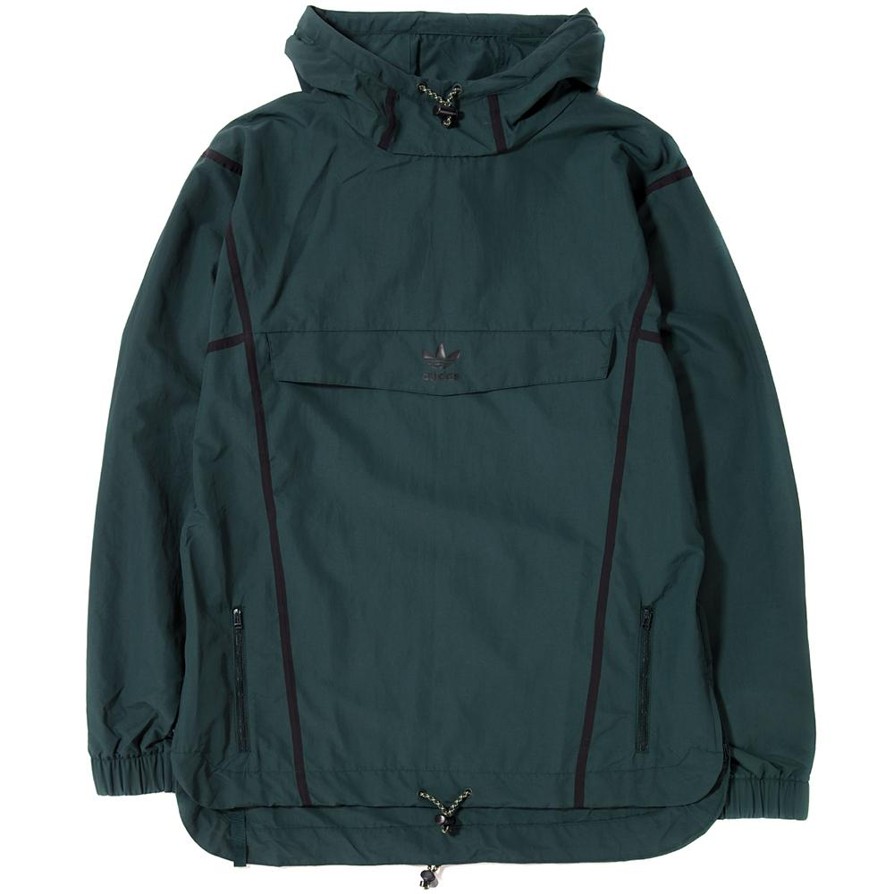 ADIDAS TAPED ANORAK / GREEN