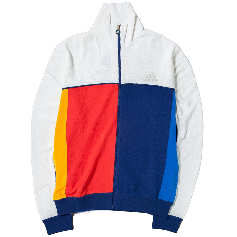 ADIDAS BY PHARRELL WILLIAMS TRACK TOP / CHALK WHITE