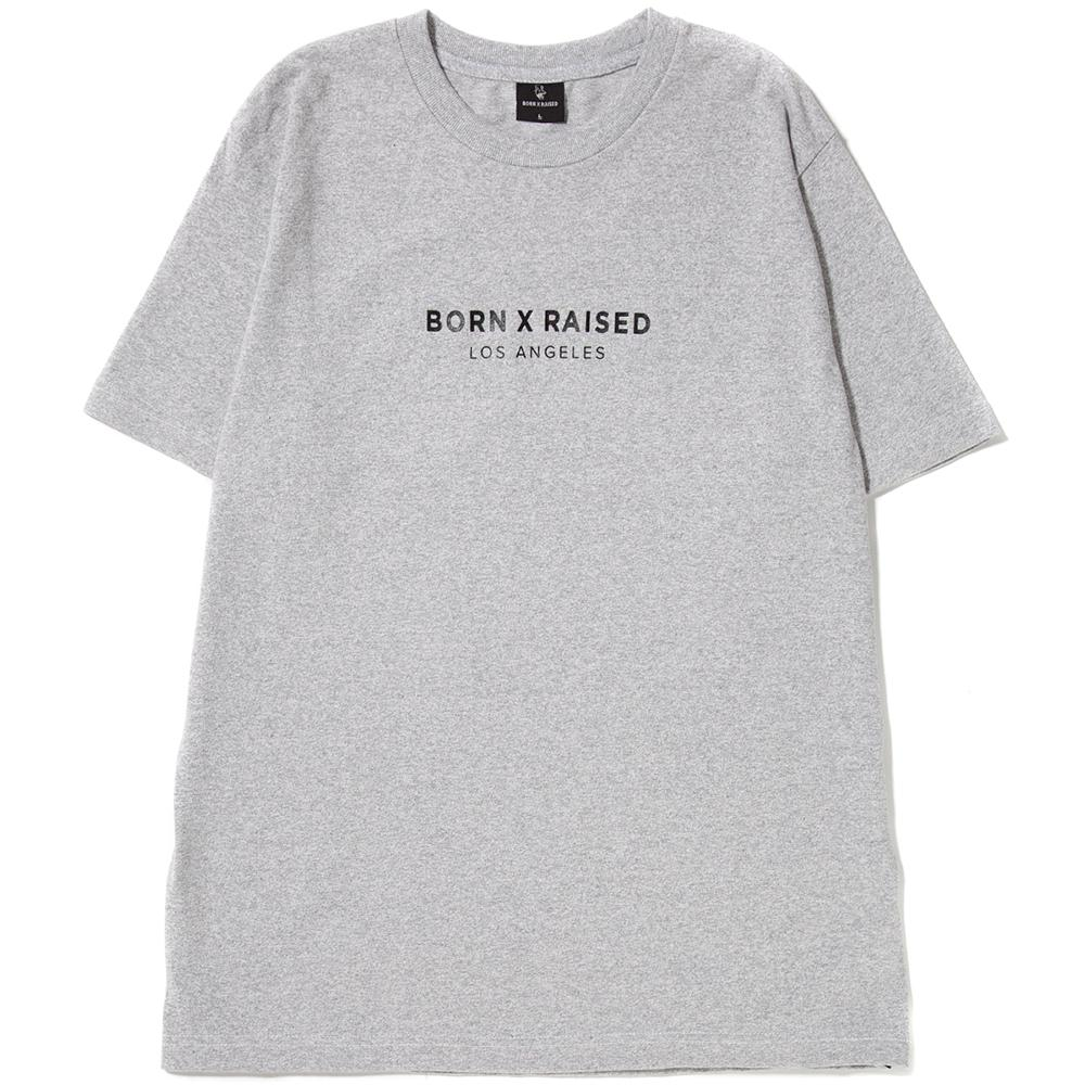 Style code BRHO1702HEA. BORN X RAISED CORPORATE T-SHIRT / HEATHER