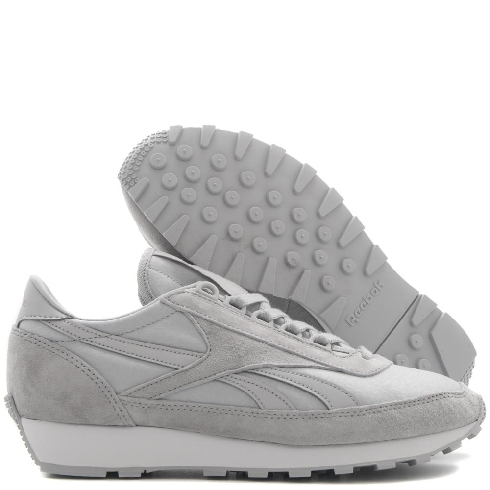 style code BS7877. REEBOK WOMEN'S AZTEC OG X FACE STOCKHOLM / SOLID GREY