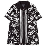 HUF Zodiac Short Sleeve Shirt / Black