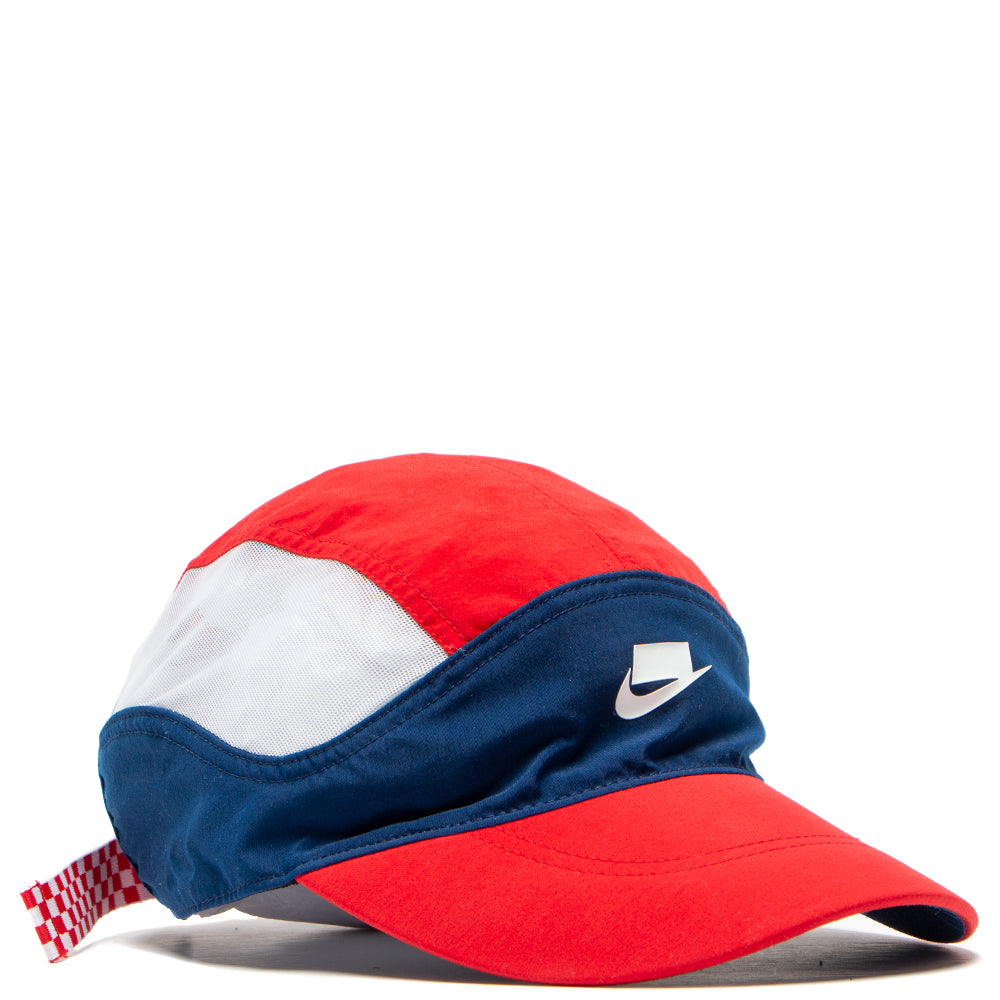 27f19a7e320b1a BV3386-492 Nike Sportswear NSW Tailwind Cap Check Blue Void / University Red