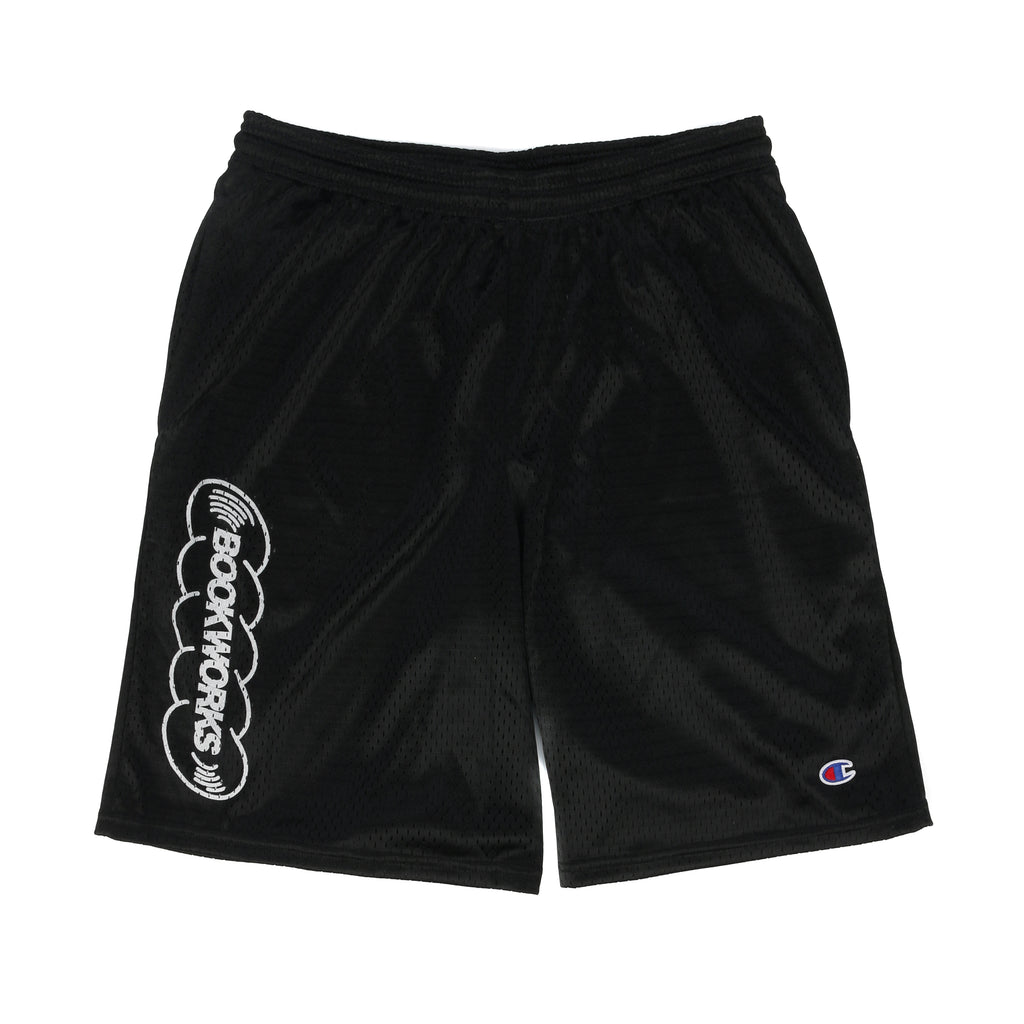 Book Works BW Mesh Shorts / Black