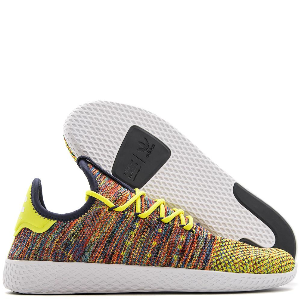 Style code BY2673. ADIDAS ORIGINALS BY PHARRELL TENNIS HU / MULTI