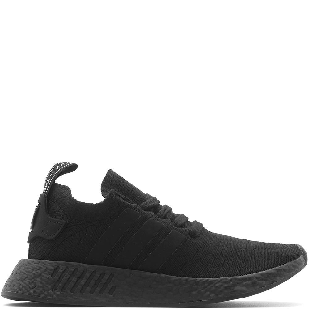 Style code BY9525. ADIDAS WOMEN'S NMD R2 PRIMEKNIT / CORE BLACK