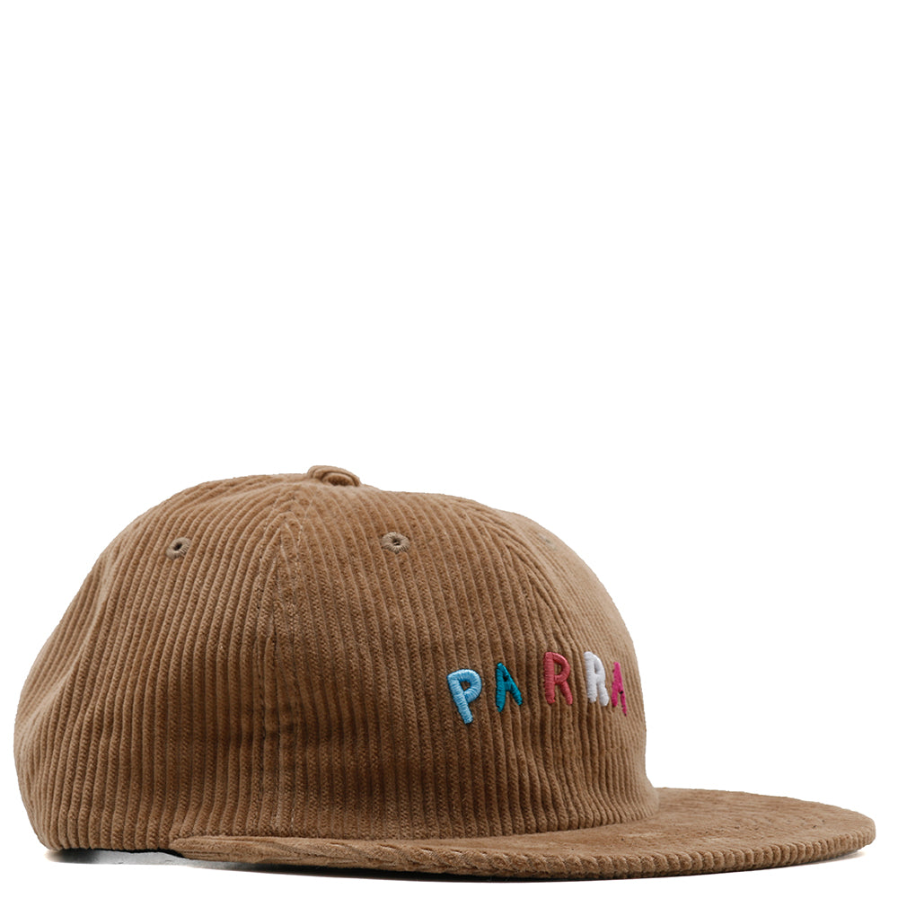 by Parra Fonts Are Us 6 Panel Hat / Camel