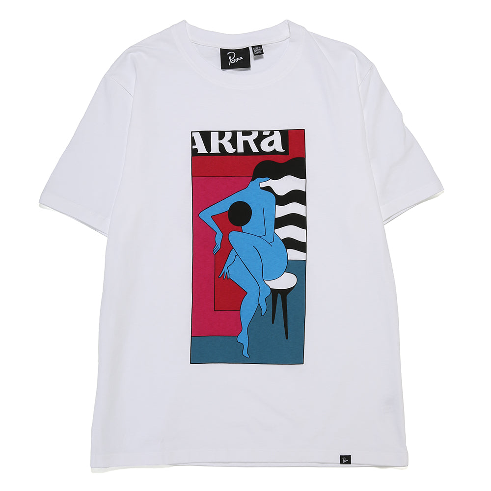 by Parra Bar Stool T-shirt / White