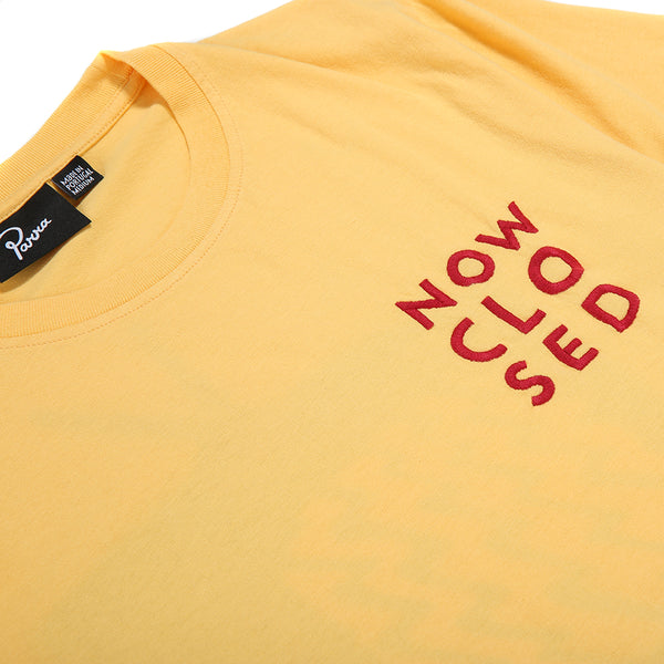 by Parra Channel Zero T-shirt / Yellow