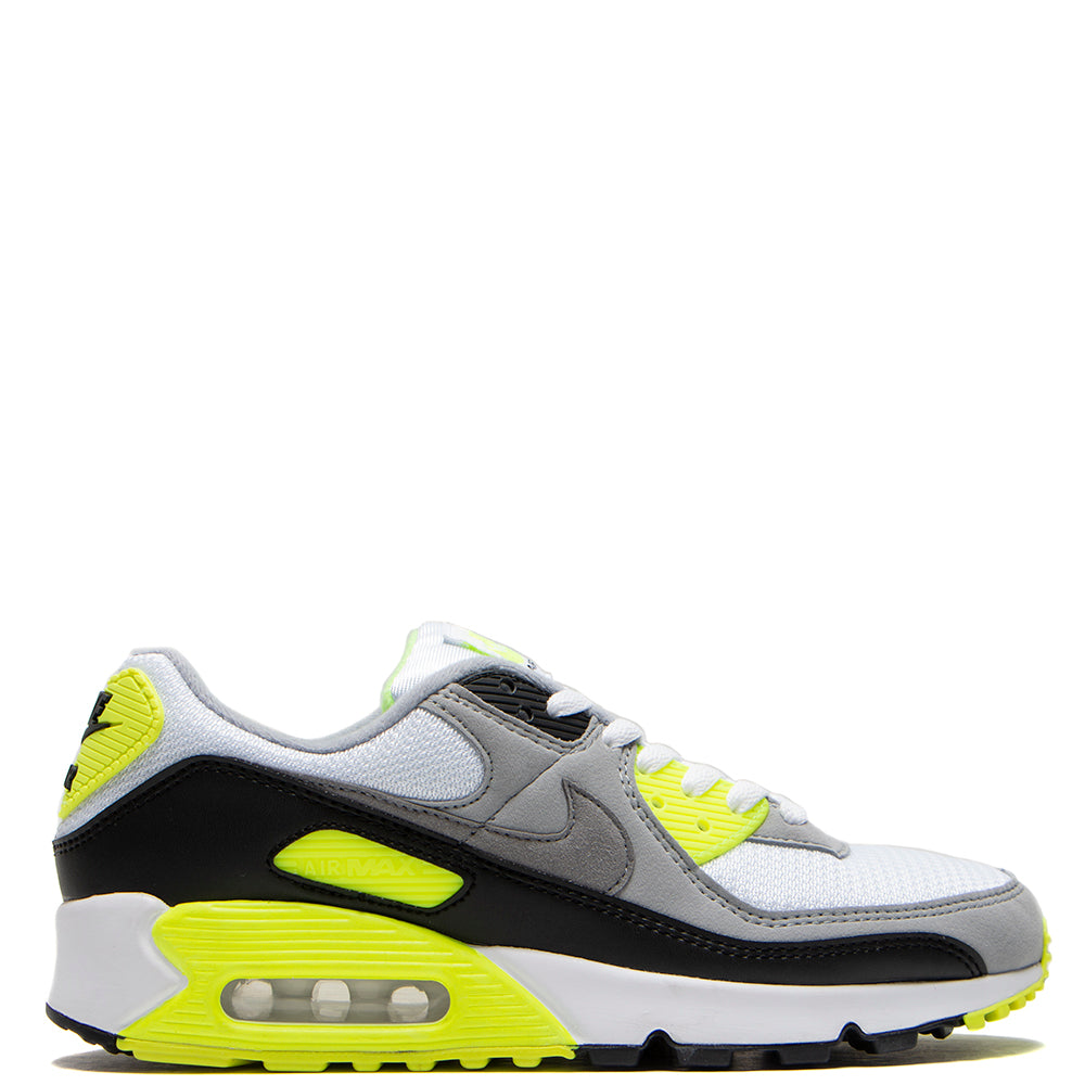 Nike Air Max 90 White / Particle Grey - Volt