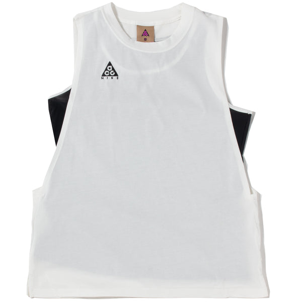 Nike Women's ACG Tank / Summit White - Deadstock.ca