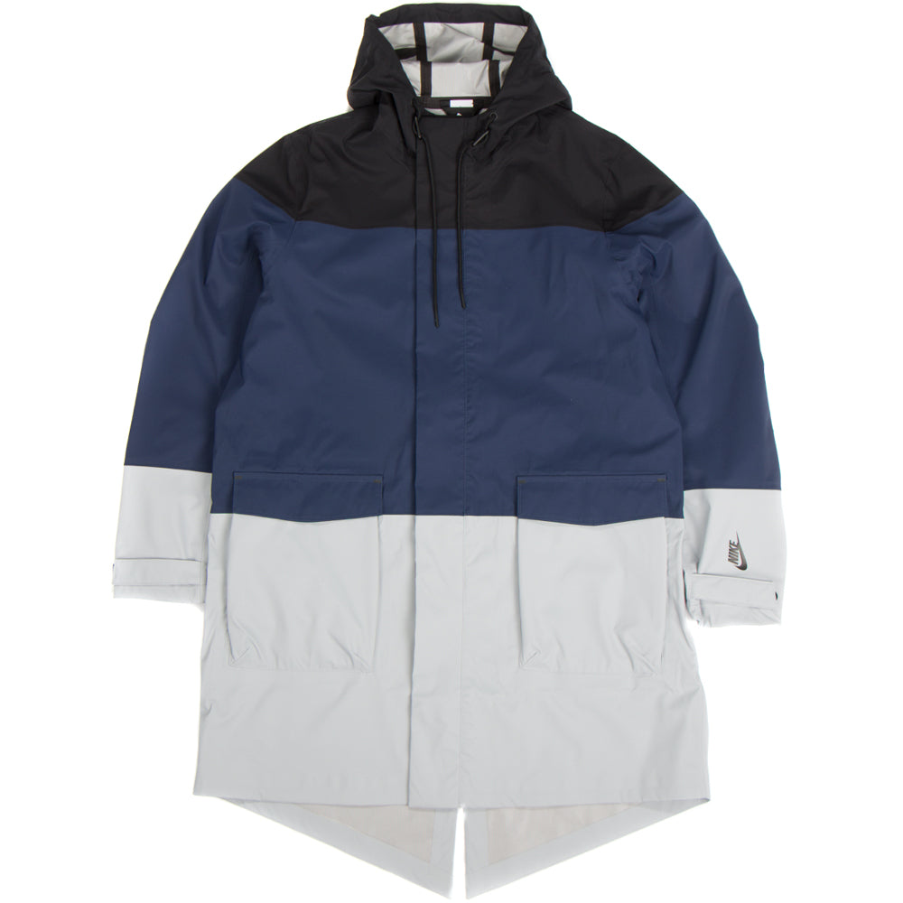 NikeLab Collection Parka Black / Midnight Navy / Wolf Grey - Deadstock.ca